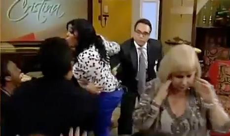 Zafarrancho en el programa de Cristina Saralegui Pa´lante