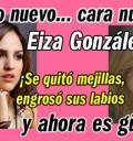 La nueva cara de Eiza González