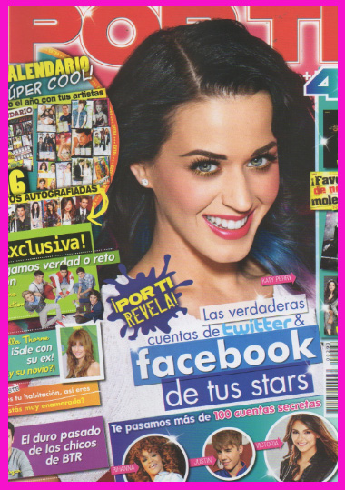 Katy Perry en Revista Por Ti