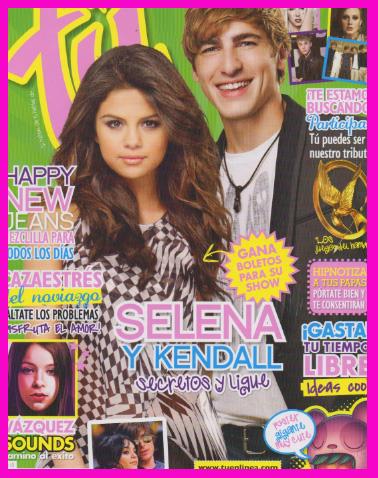 Selena Gomez y Kendall en Revista Tú