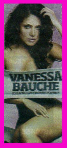 Vanessa Bauche en Playboy