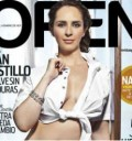 Irán Castillo en portada de Revista Open