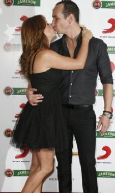 Andrea Legarreta y Erick Rubin