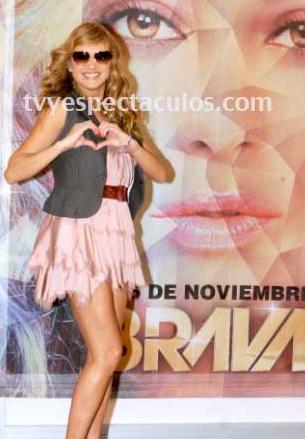 Paulina Rubio en Premios Tvynovelas 2012