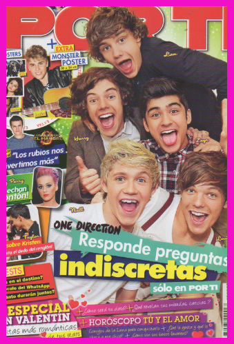 One Direction en Revista Por Ti