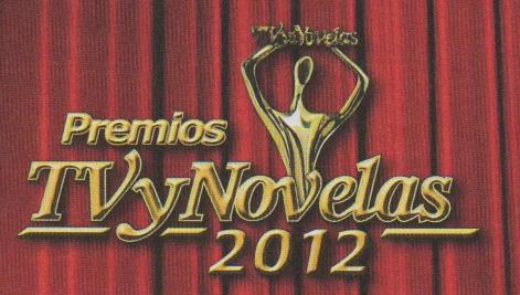Ganadores de los Premios TVyNovelas 2012
