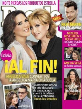 Angélica Vale comparte los detalles de su embarazo en People en Español