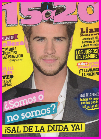 Liam Hemsworth en Revista 15 a 20