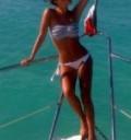 Anahi delgada en bikini