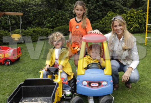 Inés Sainz espera su cuarto hijo