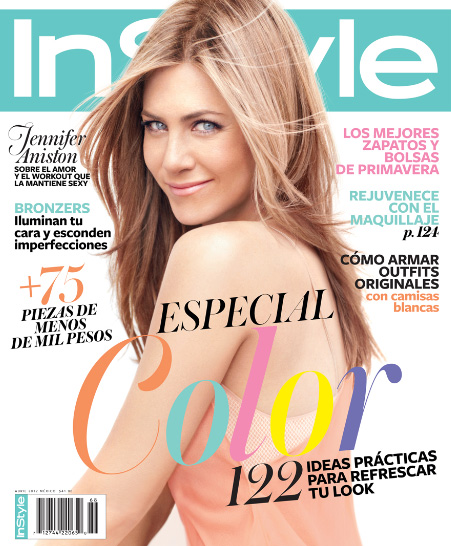 Jennifer Aniston en Instyle