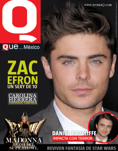 Zac Efron en Revista Q