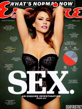 Sofía Vergara en Revista Esquire