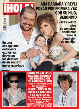 Reily Barba confirma ser el padre del hijo de Ana Bárbara