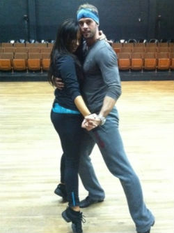 William Levy en primeros ensayos de Dancing With the Stars