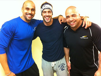 William Levy se pone en forma para Dancing With the Stars