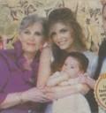 Ana Bárbara con Reyli y su hijo