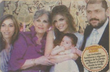 Ana Bárbara y Reyli presentan a su hijo