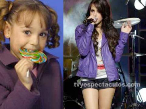 Los famosos cuando eran niños