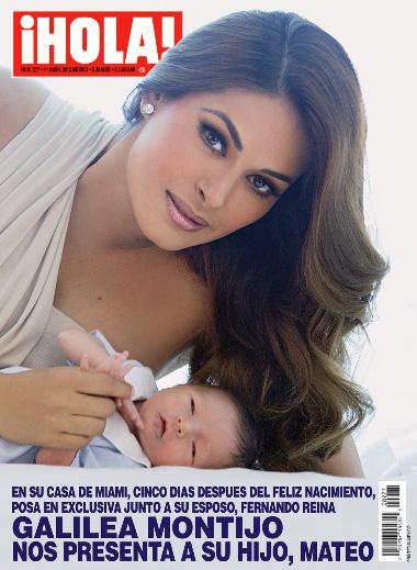 Galilea Montijo regresa a Hoy con su bebé