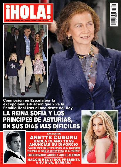 Anette Cuburu habla de su divorcio en Revista ¡HOLA!