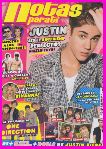 Justin Bieber en Notas para ti