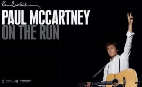 Paul McCartney en el Zócalo de la Ciudad de México