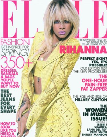 Rihanna en Revista Elle