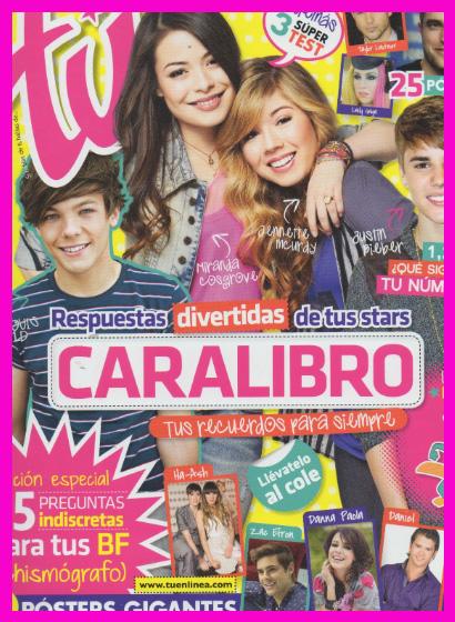 Revista Tú te obsequia un caralibro con tus estrellas teen favoritas