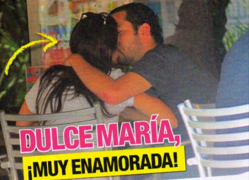 Dulce María muy enamorada de Luis