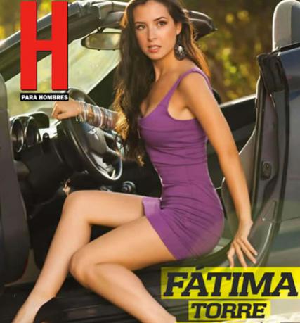 Fátima Torre en Revista H junio 2012