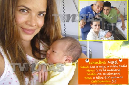 Lilí Brillanti presenta a su bebé