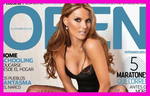 Maritere Alessandri firma autógrafos Revista Open