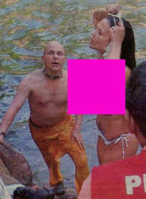 Niurka topless en Colombia