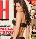 Paola Toyos en Portada de Revista H