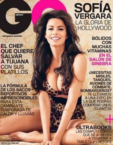 Sofía Vergara en GQ