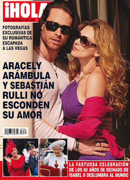 Araceli Arámbula y Sebastian Rulli ya no esconden su amor