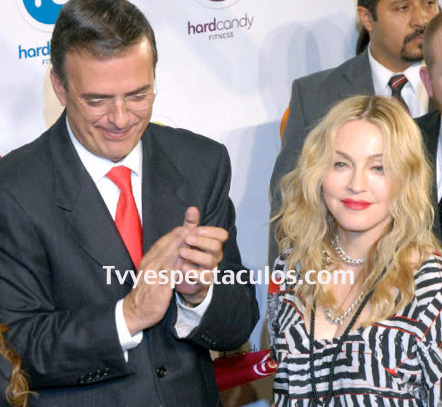 Quieren a Madonna en el Zócalo de la Ciudad de México
