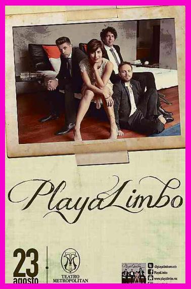 Playa Limbo en Teatro Metropolitan 23 de agosto