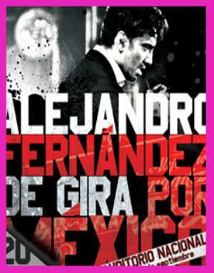 Anuncia Alejandro Fernández nueva fecha en el Auditorio Nacional