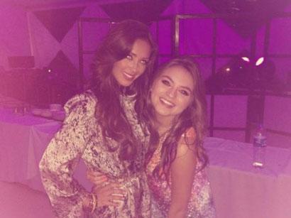 Sofía Castro presume su amistad con Anahí
