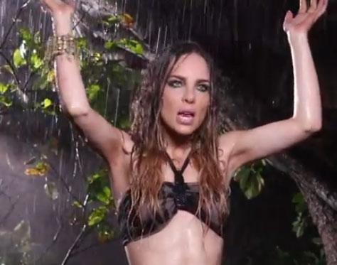 Segundo avance del video En el amor hay que perdonar de Belinda