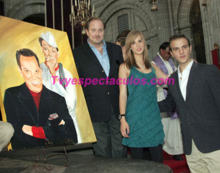 Hijo y nietos de Cantinflas