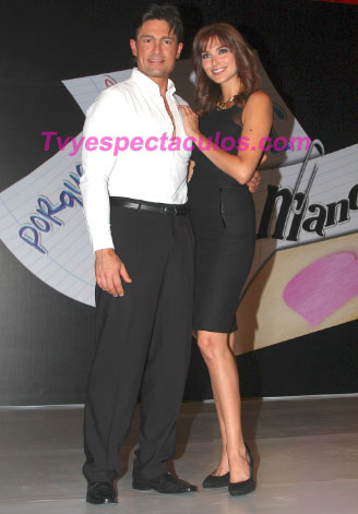 Fernando Colunga y Blanca Soto