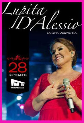 Lupita D´alessio en Auditorio Nacional 28 de septiembre