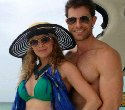 Aracely Arámbula y Sebastián Rulli de vacaciones en Cancún