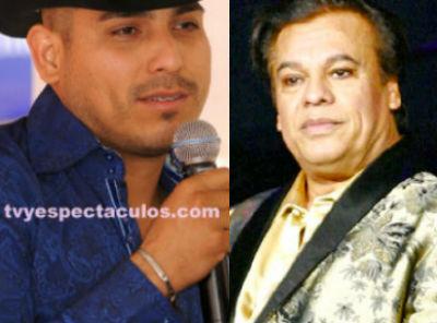 Espinoza Paz grabará tema con Juan Gabriel