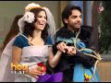 Despedida de solteros de Alessandra Rosaldo y Eugenio Derbez en el programa Hoy