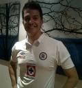 Fernando del Solar con Playera Cruz Azul