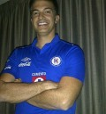 Fernando del Solar presume Playera Cruz Azul